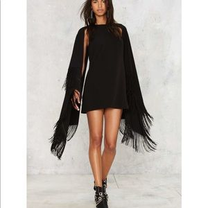 🛑2️⃣ curtain yourself Fringe dress